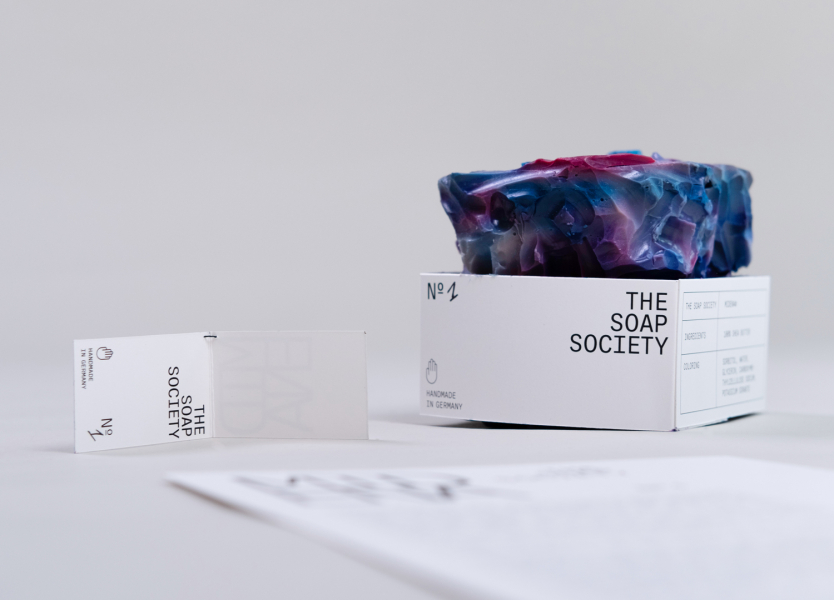 Produktdesign Packaging Seife Fotografie